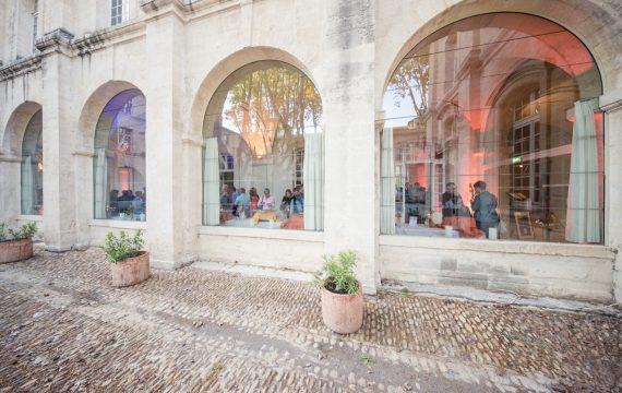 Photographie du salon Découvertes en Vallée du Rhône
